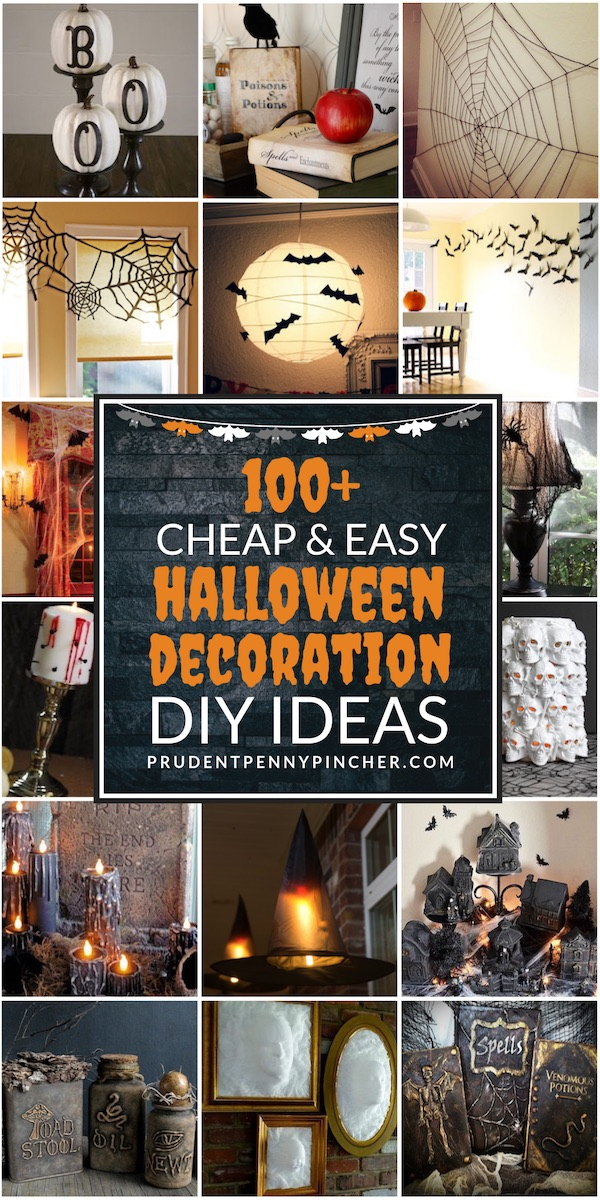 100 Cheap And Easy Diy Halloween Decor Ideas Prudent Penny Pincher